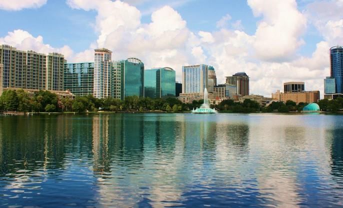 Cidade de Orlando estados unidos