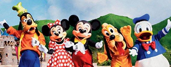 Pacotes para Disney