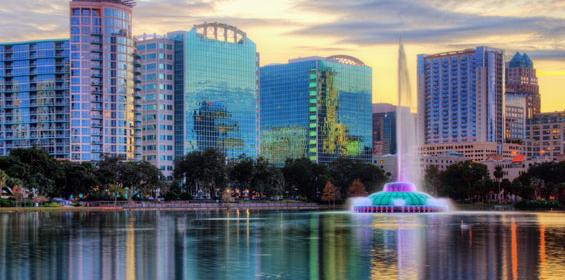 Viajando para Orlando